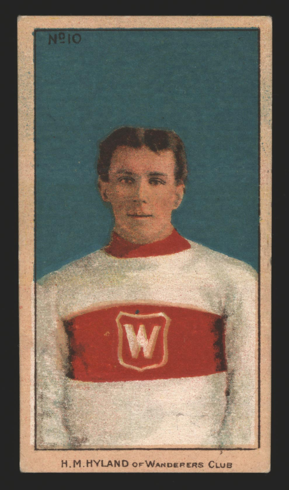 1910-1911 C56 Imperial Tobacco #10 Harry Hyland Wanderers - Front
