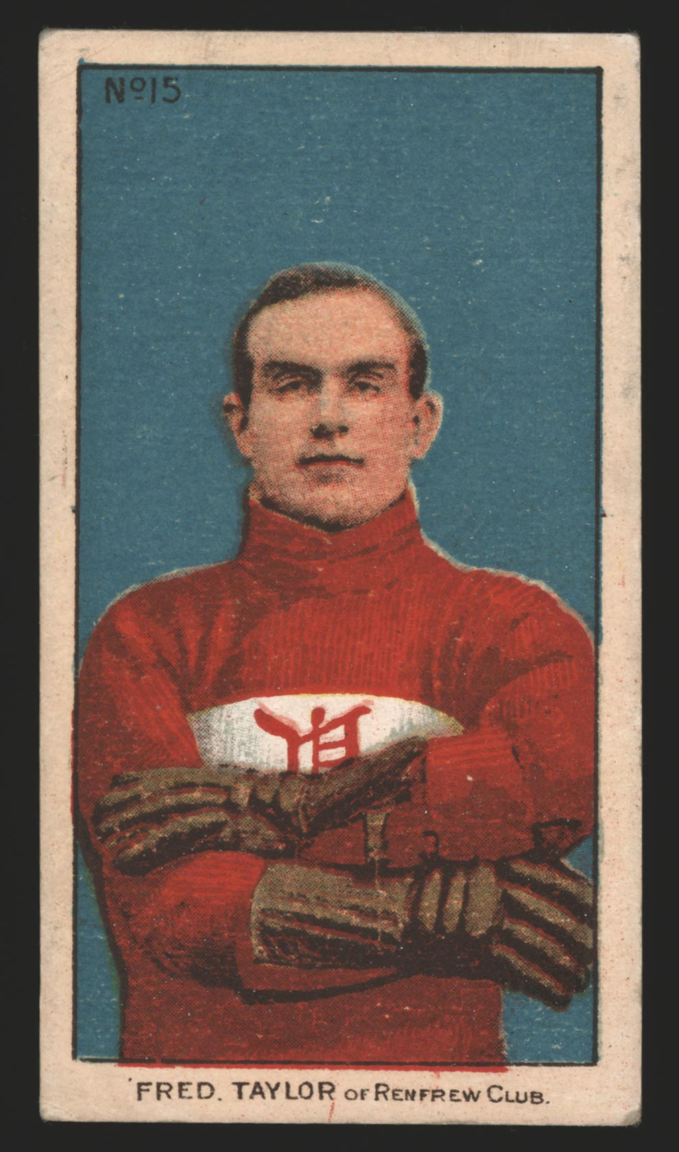 1910-1911 C56 Imperial Tobacco #15 Fred Taylor Renfrew - Front