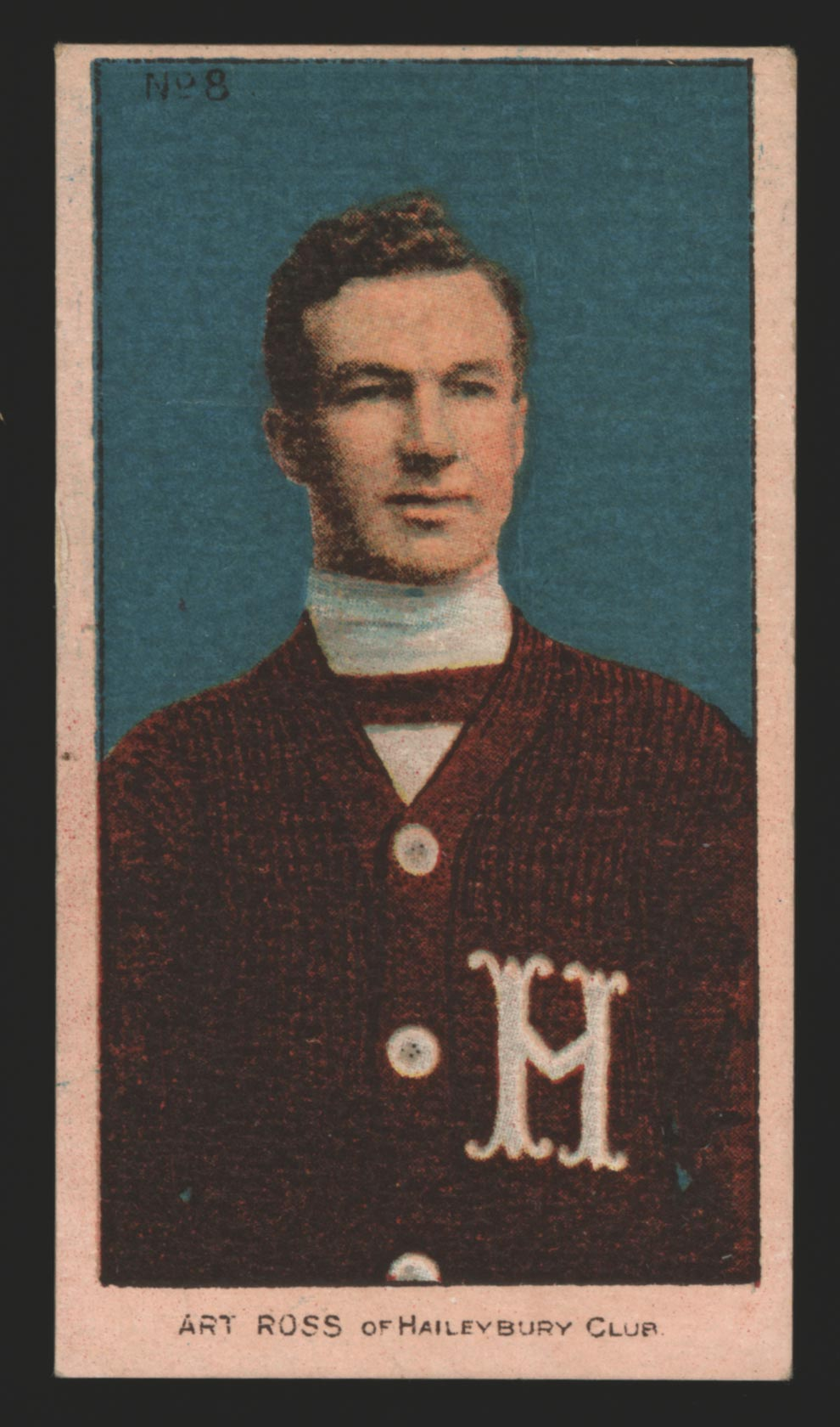 1910-1911 C56 Imperial Tobacco #8 Art Ross Haileybury - Front