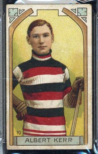 1911-1912 C55 Imperial Tobacco #10 Albert Kerr Ottawa - Front