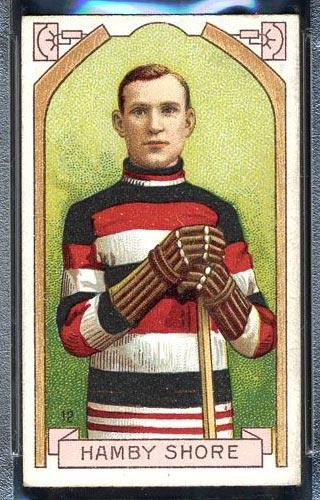 1911-1912 C55 Imperial Tobacco #12 Hamby Shore Ottawa - Front