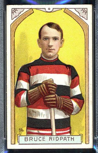 1911-1912 C55 Imperial Tobacco #14 Bruce Ridpath Ottawa - Front