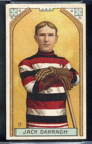 1911-1912 C55 Imperial Tobacco #17 Jack Darragh Ottawa - Front