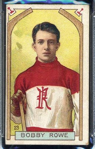 1911-1912 C55 Imperial Tobacco #23 Bobby Rowe Renfrew - Front