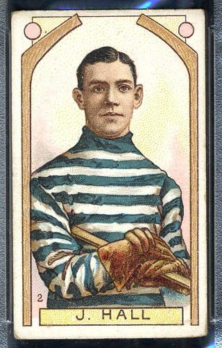 1911-1912 C55 Imperial Tobacco #2 Joe Hall Quebec - Front