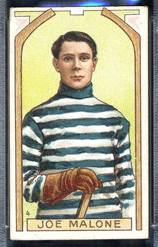 1911-1912 C55 Imperial Tobacco #4 Joe Malone Quebec - Front