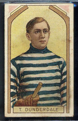 1911-1912 C55 Imperial Tobacco #6 Tom Dunderdale Quebec - Front