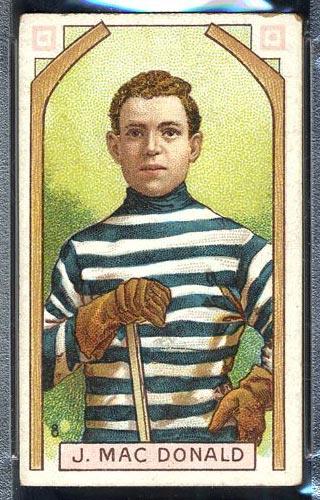 1911-1912 C55 Imperial Tobacco #8 Jack MacDonald Quebec - Front