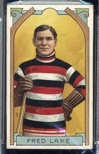1911-1912 C55 Imperial Tobacco #9 Fred Lake Ottawa - Front