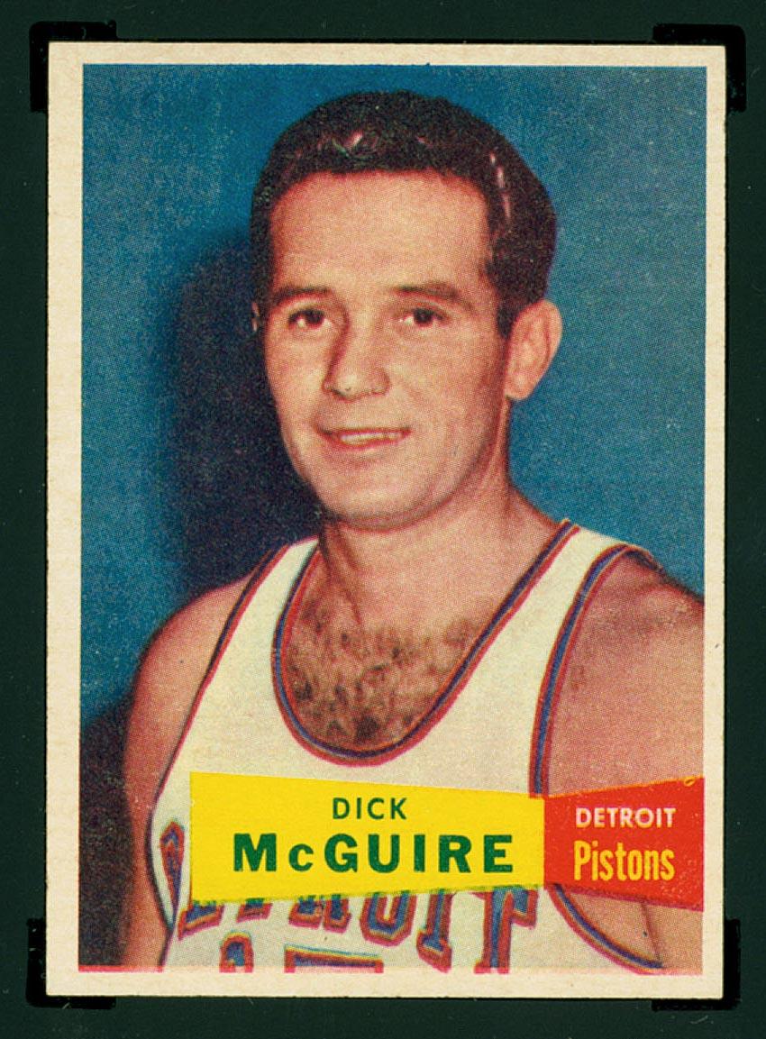 BMW Sportscards Dick McGuire 16