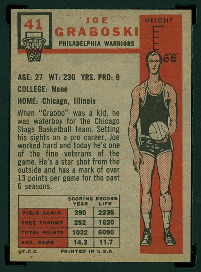 BMW Sportscards Joe Graboski 41