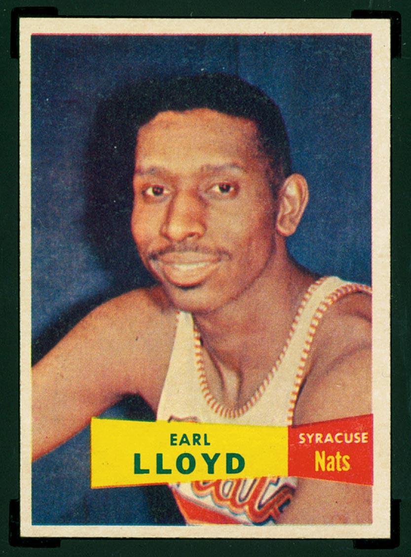 Bmw Sportscards Earl Lloyd 54 1957 1958 Topps Basketball