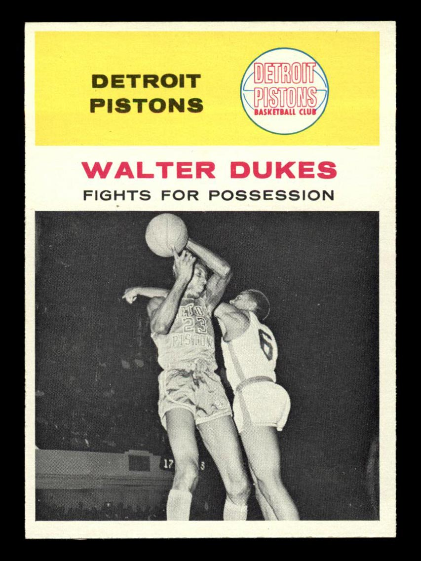 BMW Sportscards Walter Dukes 50 In Action