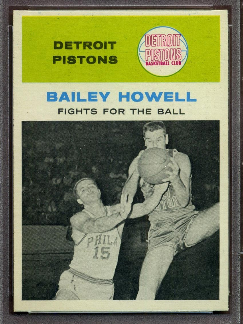 BMW Sportscards Bailey Howell 55 In Action