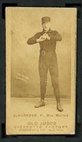 1887-1890 N172 Old Judge Cigarettes Daniel Alexander Des Moines