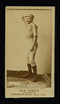 1887-1890 N172 Old Judge Cigarettes Kid Baldwin Cincinnati