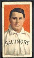 1909-1911 T206 Doc Adkins Baltimore