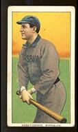 1909-1911 T206 Ed Abbaticchio (brown sleeves) Pittsburg