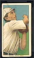 """1909-1911 T206 Frank """"Home Run"""" Baker Philadelphia Amer. (American)"""