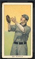 1909-1911 T206 Harry Bay Nashville