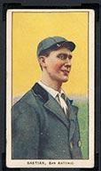 1909-1911 T206 Jack Bastian San Antonio