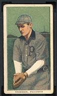 1909-1911 T206 John Anderson Providence