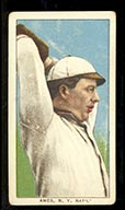 1909-1911 T206 Red Ames (hands above head) N.Y. Nat'l (National)