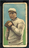 1909-1911 T206 Red Ames (hands at chest) N.Y. Nat'l (National)