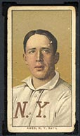 1909-1911 T206 Red Ames (portrait) N.Y. Nat'l (National)