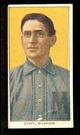 1909-1911 T206 Shad Barry Milwaukee