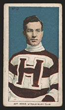 1910-1911 C56 Imperial Tobacco #12 Art Ross Haileybury - Front