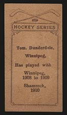 1910-1911 C56 Imperial Tobacco #14 Tom Dunderdale Shamrock - Back