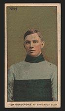 1910-1911 C56 Imperial Tobacco #14 Tom Dunderdale Shamrock - Front
