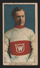 1910-1911 C56 Imperial Tobacco #22 Riley Hern Wanderers - Front