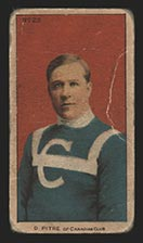 1910-1911 C56 Imperial Tobacco #23 Didier Pitre Canadian - Front