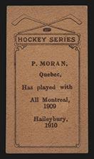 1910-1911 C56 Imperial Tobacco #28 Paddy Moran Haileybury - Back