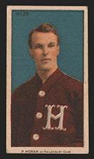 1910-1911 C56 Imperial Tobacco #28 Paddy Moran Haileybury - Front