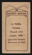 1910-1911 C56 Imperial Tobacco #29 C. Toms Cobalt - Back