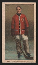 1910-1911 C56 Imperial Tobacco #2 Percy Lesueur Ottawa - Front