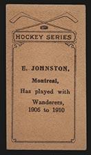 1910-1911 C56 Imperial Tobacco #30 Ernest Johnson Wanderers - Back