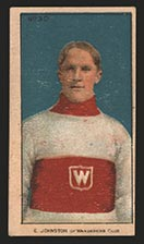 1910-1911 C56 Imperial Tobacco #30 Ernest Johnson Wanderers - Front