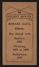 1910-1911 C56 Imperial Tobacco #31 Horace Gaul Haileybury - Back