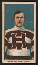 1910-1911 C56 Imperial Tobacco #31 Horace Gaul Haileybury - Front