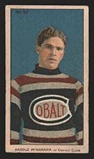 1910-1911 C56 Imperial Tobacco #32 Harold McNamara Cobalt - Front