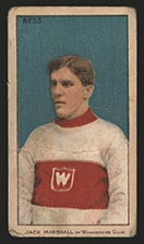 1910-1911 C56 Imperial Tobacco #33 Jack Marshall Wanderers - Front