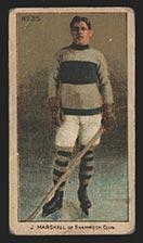 1910-1911 C56 Imperial Tobacco #35 Jack Marshall Shamrock - Front