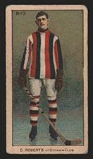 1910-1911 C56 Imperial Tobacco #3 Gordon Roberts Ottawa - Front