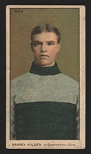 1910-1911 C56 Imperial Tobacco #4 Barney Holden Shamrock - Front