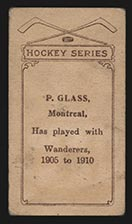 1910-1911 C56 Imperial Tobacco #5 Pud Glass Wanderers - Back
