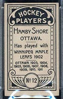 1911-1912 C55 Imperial Tobacco #12 Hamby Shore Ottawa - Back